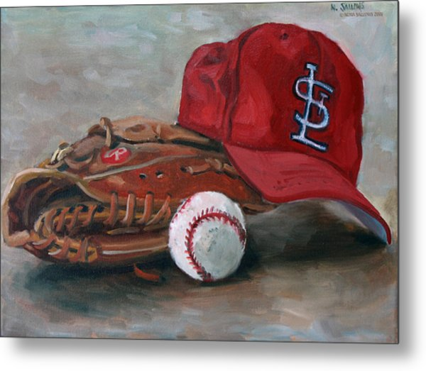 Spring Training  Metal Print by Nora Sallows