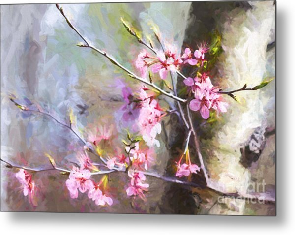 Spring's Awaited Color Metal Print