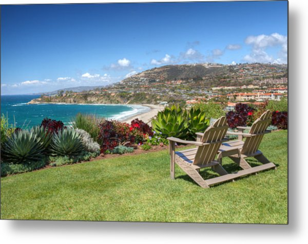 Springtime At Salt Creek Beach Metal Print