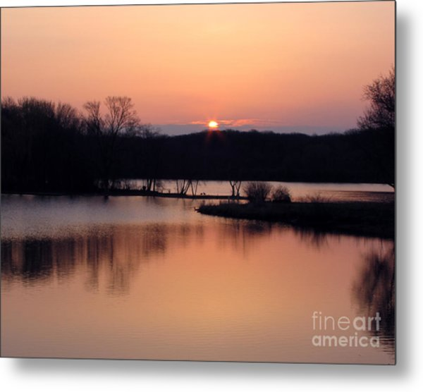 Springtime In Monee - Limited Edition Metal Print