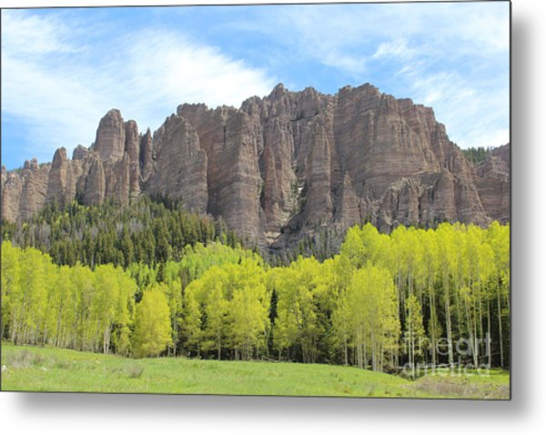 Springtime In The Cimarrons Metal Print
