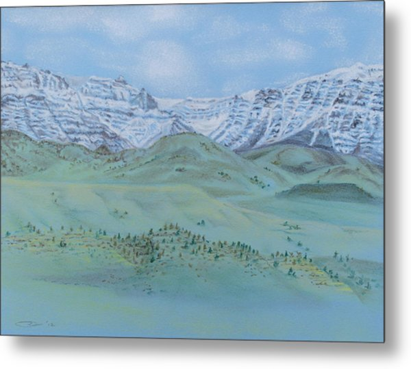 Springtime In The Rockies Metal Print