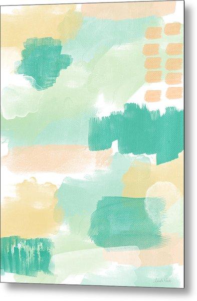 Spumoni- Abstract Painting Metal Print