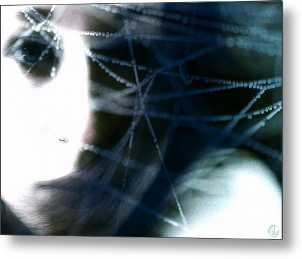 Spun With Tears Metal Print