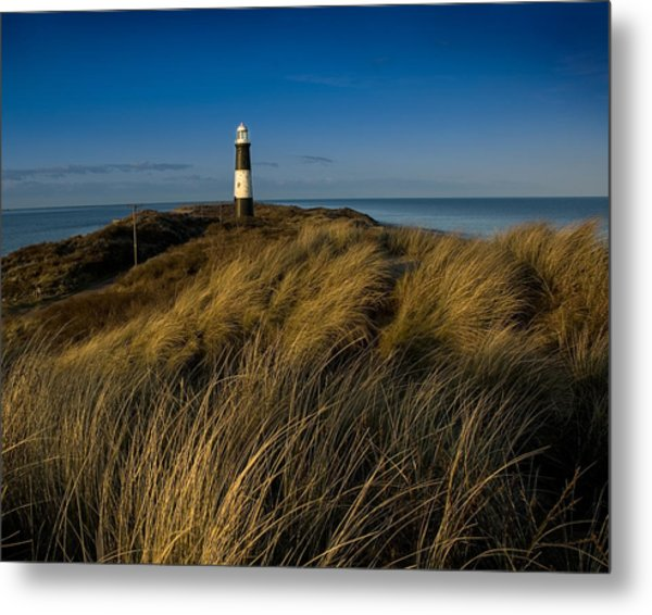 Spurn Point Lighthouse Metal Print