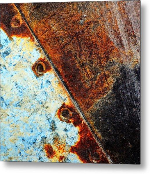 Squared Away Metal Print