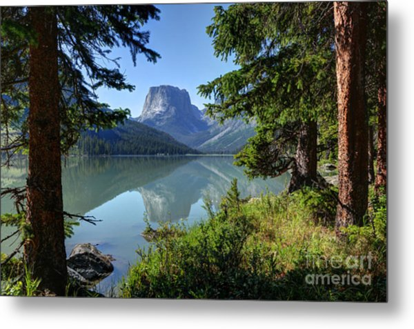 Squaretop Mountain - Wind River Range Metal Print