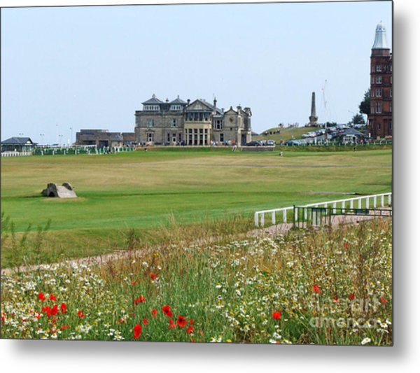 St Andrews Royal And Ancient Golf Course Metal Print