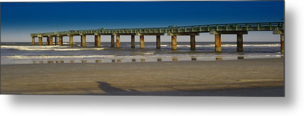 St. Augustine Pier Metal Print by Donnell Carr