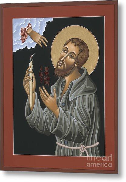 St. Benedict Joseph Labre 062 Metal Print
