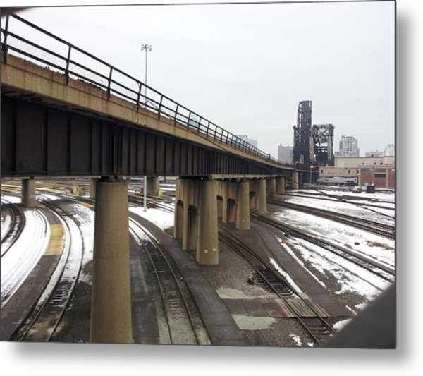 St. Charles Airline Bridge Metal Print