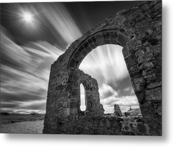St Dwynwen's Church Metal Print