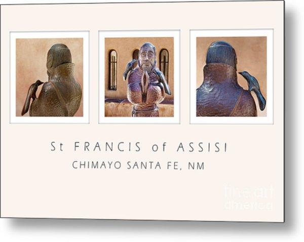 St Francis 360 Metal Print