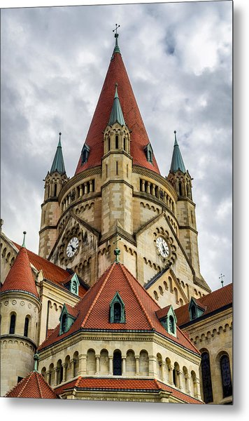 St. Francis Of Assisi Church In Vienna Metal Print