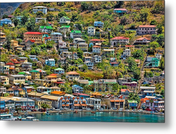 St. Georges Harbor Grenada Metal Print