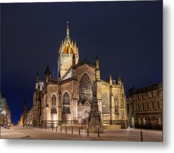 St. Giles Cathedral Metal Print