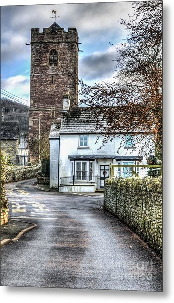 St Gwendolines Church Talgarth Metal Print