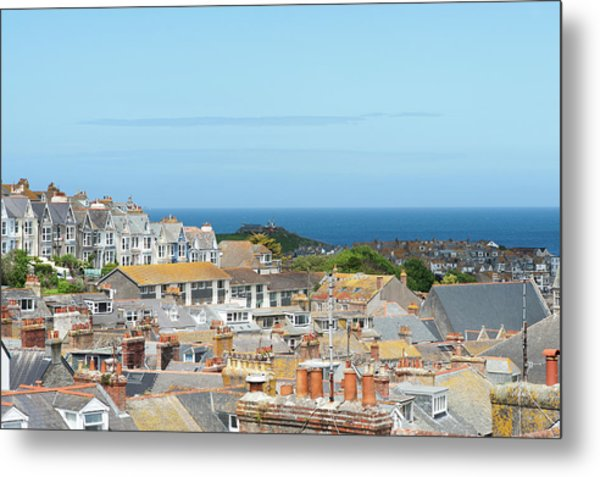 St Ives Metal Print by Caphoto