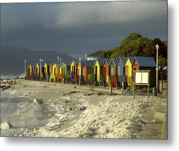 St James Beach Metal Print by Tom Hudson