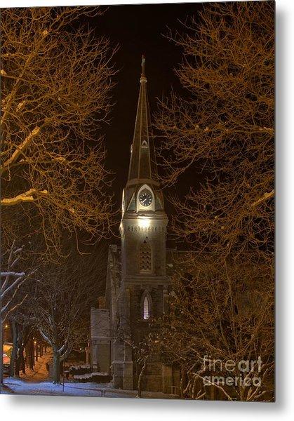 St. James Episcopal Church Steeple Metal Print