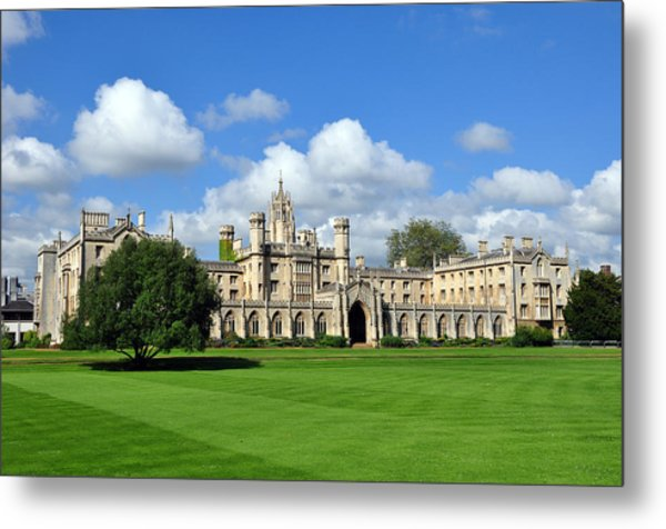 St. John's College Cambridge Metal Print