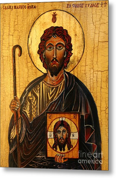 St. Jude The Apostle Metal Print
