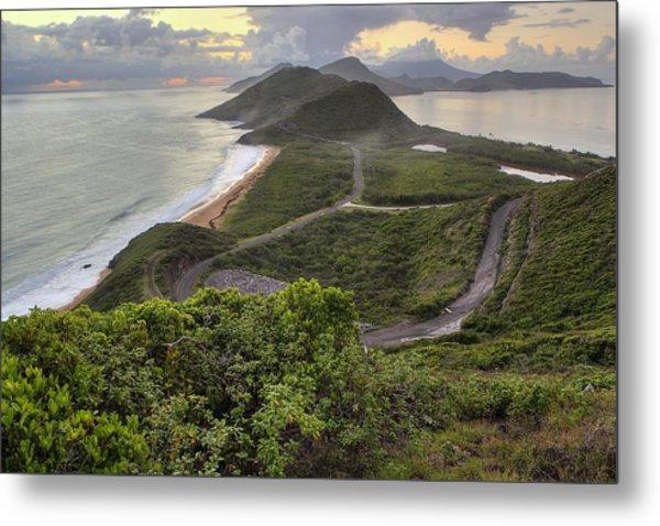 St Kitts Overlook Metal Print