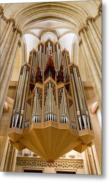 St Lambertus Organ Metal Print