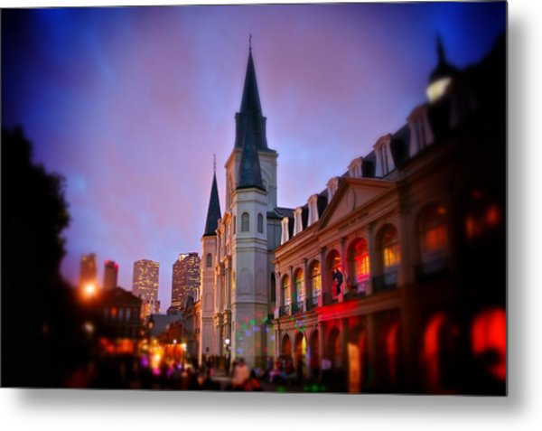 St. Louis Cathedral 3 Metal Print