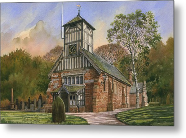 St. Mary And All Saints Metal Print by Anthony Forster