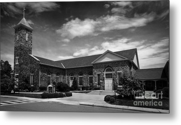St. Mary Of The Mills Laurel Maryland Metal Print