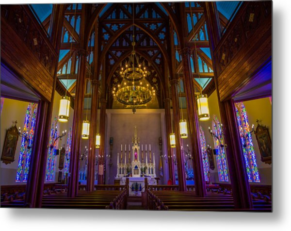 St. Mary's Of The Mountains Church Metal Print