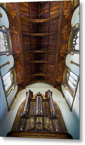 St Michael's Church Framlingham Metal Print