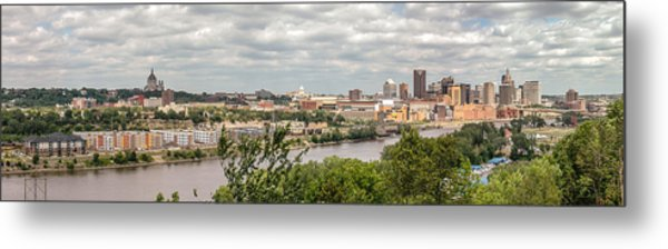 St Paul Skyline 2005 Metal Print