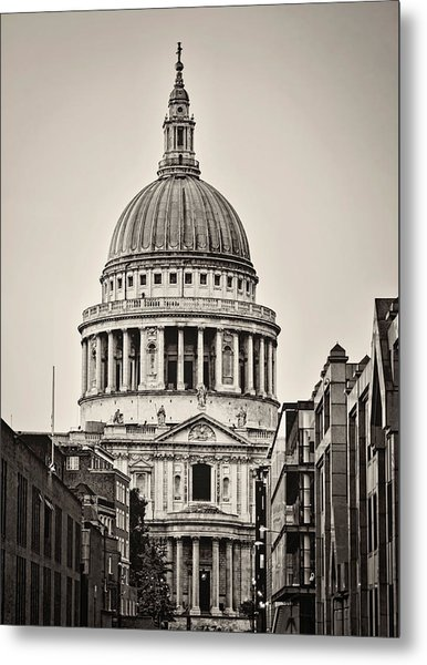 St Pauls London Metal Print