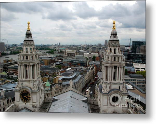 St Paul's View Metal Print