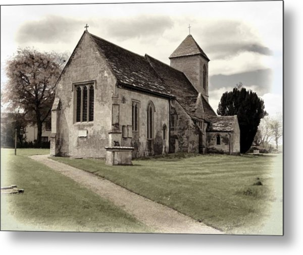 St Peters Church 1 Metal Print