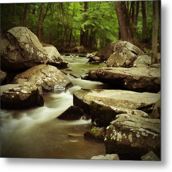 St. Peters Stream Metal Print