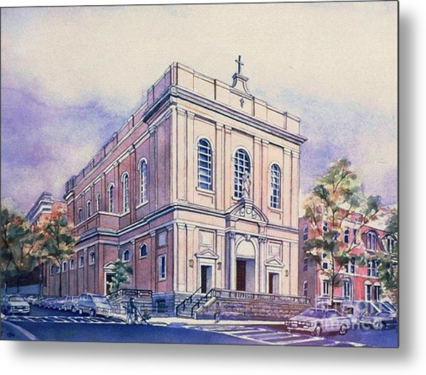 St Saviors Church  Metal Print