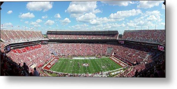 Stadium Panorama View Metal Print