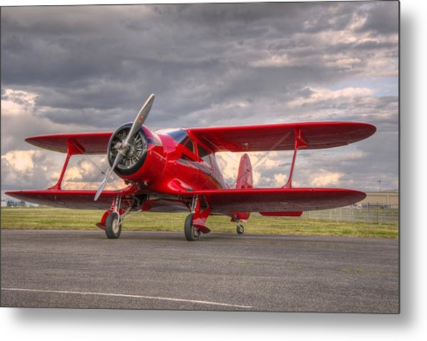 Staggerwing Metal Print