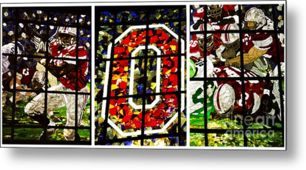 Stained Glass At The Horseshoe Metal Print