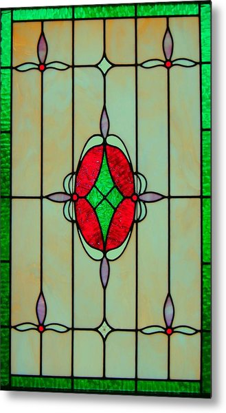 Stained Glass Metal Print by Mary Ann Southern