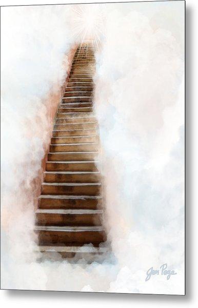 Stair Way To Heaven Metal Print