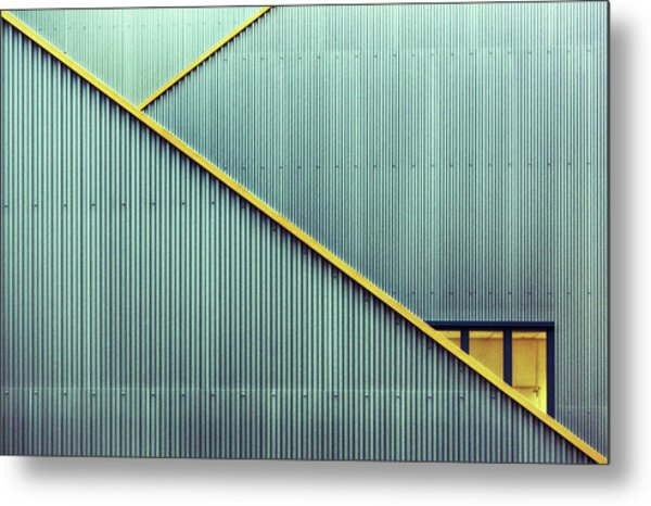 Stairs Metal Print by Jan Niezen