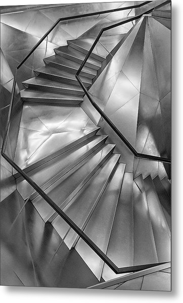 Stairs.caixa Forum Metal Print