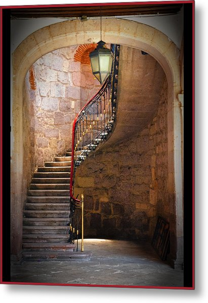 Stairway Of Light Metal Print