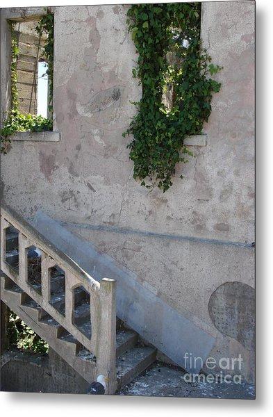 Stairway To Alcatraz Metal Print by Mark Etchason