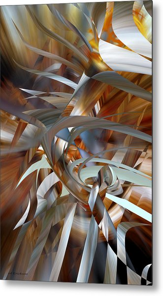 Metal Print featuring the digital art Stairway To Heaven by rd Erickson