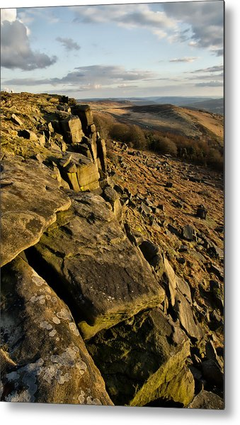 Stanage Edge Metal Print